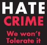 This is the recognised logo for the Hate Crime initiative
